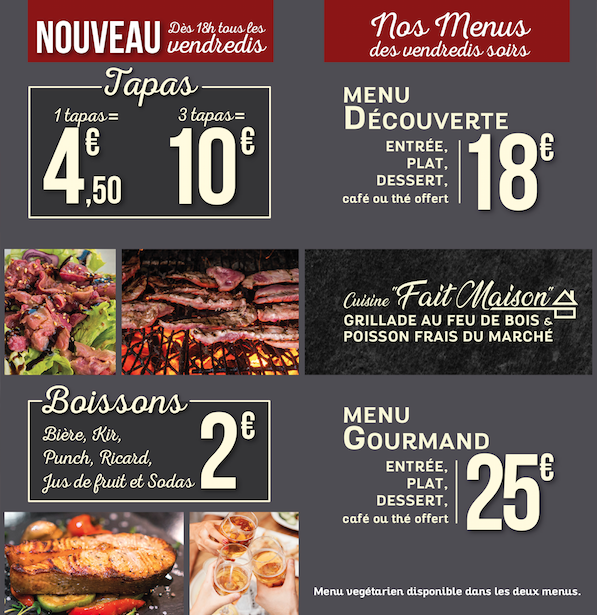 Restaurant repas groupe toulouse